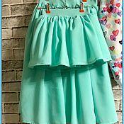 Одежда ручной работы. Ярмарка Мастеров - ручная работа Комплект Family look юбки для мамы и дочки. Handmade.