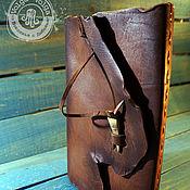 Канцелярские товары handmade. Livemaster - original item Wild notebook. Handmade.