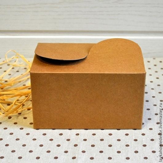 Коробка крафт 15,5х10,5х8,5см