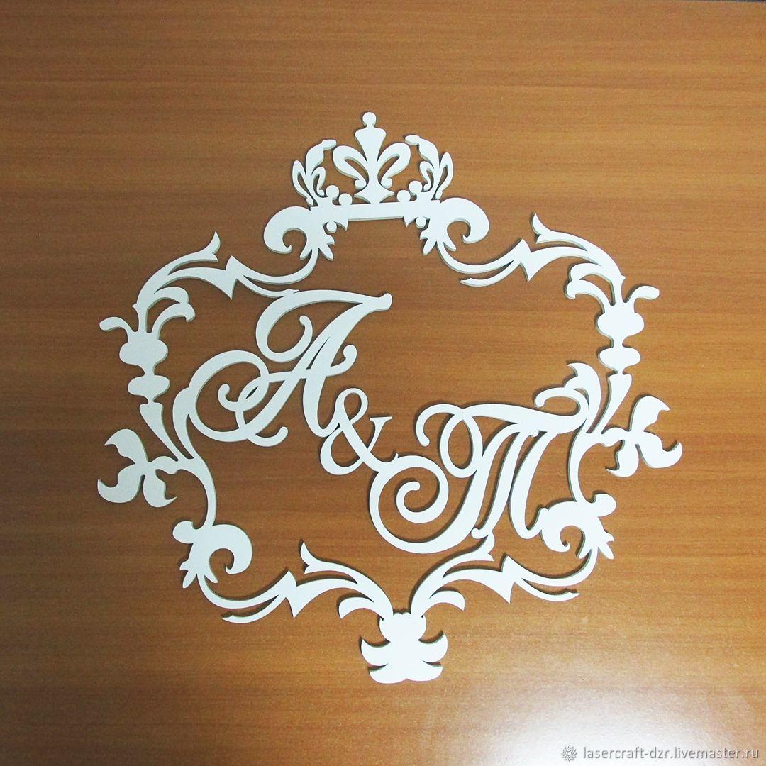 Свадебный герб из дерева, Аксессуары, Дзержинск, Фото №1