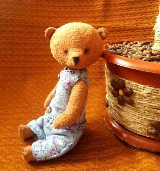 Мишки Тедди ручной работы. Ярмарка Мастеров - ручная работа. Купить Мишка тедди Патрик. Handmade. Бежевый, теддик, игрушка