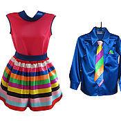 """Одежда ручной работы. Ярмарка Мастеров - ручная работа Платье и рубашка """"Стиляги"""". Handmade."""