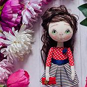 """Куклы и игрушки ручной работы. Ярмарка Мастеров - ручная работа Авторская кукла """"Красный огонек"""". Handmade."""