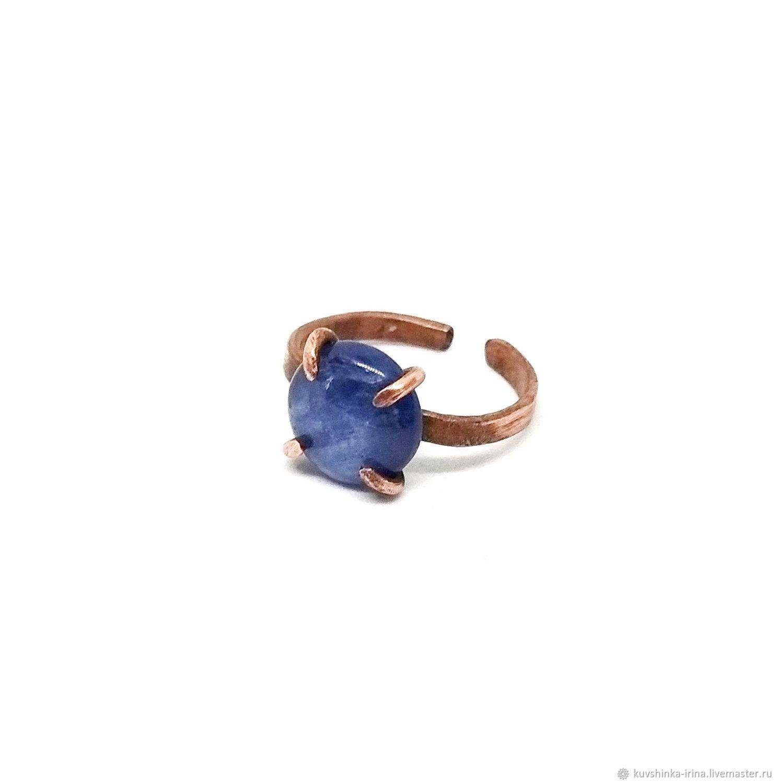 Copper ring with kyanite, Rings, St. Petersburg,  Фото №1