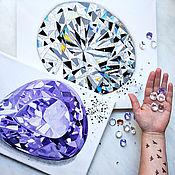 Картины и панно handmade. Livemaster - original item The Picture Is Brilliant. Drawings, watercolors. Stones, crystal. BUY PAINTING. Handmade.