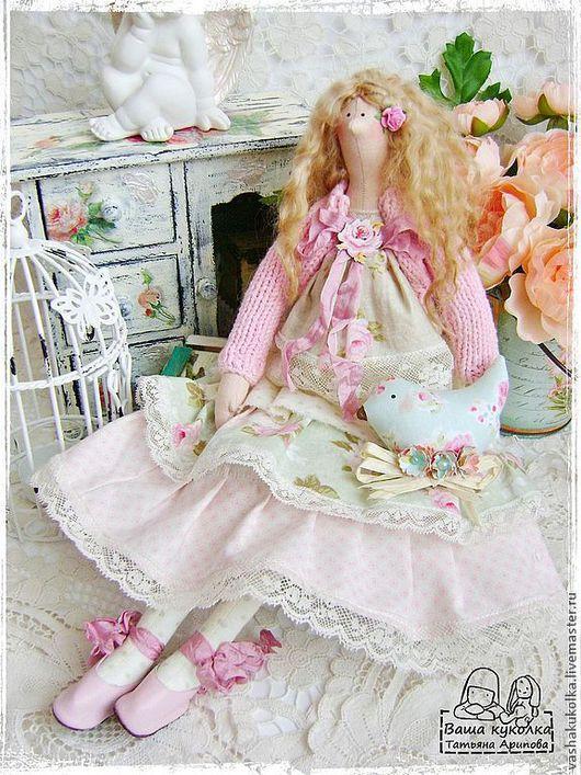 Куклы Тильды ручной работы. Ярмарка Мастеров - ручная работа. Купить Тильда Даяна в стиле бохо. Handmade. Тильда