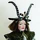 Коллекционная кукла ручной работы. Козерог. Проект ZODIAC