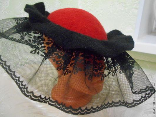 Шляпы ручной работы. Ярмарка Мастеров - ручная работа. Купить Модель №25 Кармен. Handmade. Ручная работа