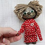 Куклы и игрушки ручной работы. Ярмарка Мастеров - ручная работа Домовенок Кузя.Сувенирная кукла.. Handmade.