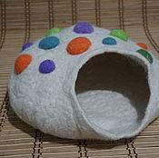Для домашних животных, ручной работы. Ярмарка Мастеров - ручная работа кошкин дом - норка. Handmade.