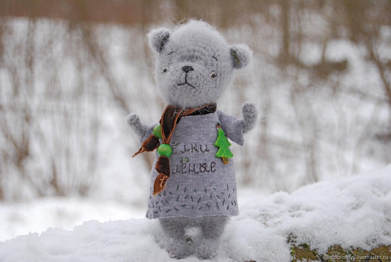 Мишка и ёлки зелёные, Мягкие игрушки, Москва,  Фото №1