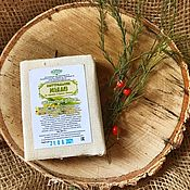 Косметика ручной работы handmade. Livemaster - original item soap: Lime color on the herbs of the Altai Mountains. Handmade.