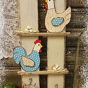 """Для дома и интерьера ручной работы. Ярмарка Мастеров - ручная работа """"Курятник"""" - вешалка. Handmade."""