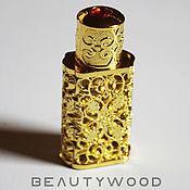 Материалы для творчества handmade. Livemaster - original item A bottle for perfume and oils 2ml. Handmade.