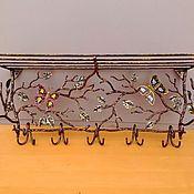 Для дома и интерьера ручной работы. Ярмарка Мастеров - ручная работа Вешалка в прихожую. Handmade.