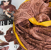 """Платки ручной работы. Ярмарка Мастеров - ручная работа Шарф женский по мотивам ETRO """"Загадочный Восток"""". Handmade."""