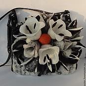 Сумки и аксессуары handmade. Livemaster - original item Bag felted