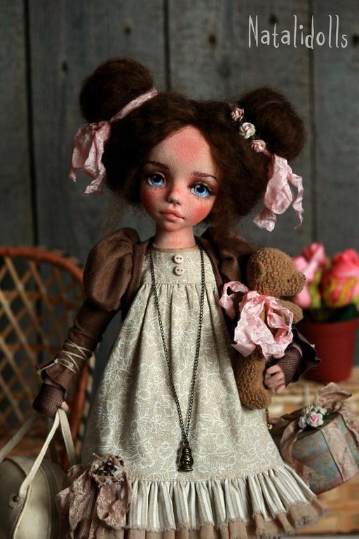Куклы ручной работы стили