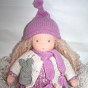 Куклы и игрушки ручной работы. Ярмарка Мастеров - ручная работа Добрая девочка, вальдорфская кукла 37 см.. Handmade.