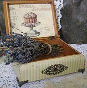 Для дома и интерьера ручной работы. Ярмарка Мастеров - ручная работа Шкатулка Provance. Handmade.