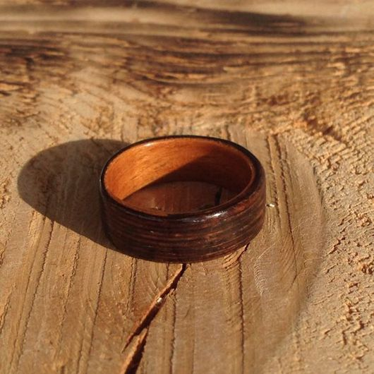 Кольца ручной работы. Ярмарка Мастеров - ручная работа. Купить Легенды осени - деревянное кольцо (bentwood ring). Handmade. Кольцо
