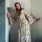Одежда ручной работы. Ярмарка Мастеров - ручная работа Платье-пальто Весна священная. Handmade.