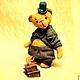 """Мишки Тедди ручной работы. Ярмарка Мастеров - ручная работа. Купить Mr. Бредли (коллекция """"Твид- старая Англия""""). Handmade."""