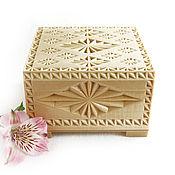 Большие деревянные шкатулки для украшений на заказ