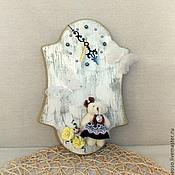 Для дома и интерьера ручной работы. Ярмарка Мастеров - ручная работа часы Мишка. Handmade.