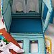 Кукольный театр ручной работы. Домик. Татьяна  Черномырдина. Ярмарка Мастеров. Домик для куклы, развивающие игрушки, крючки