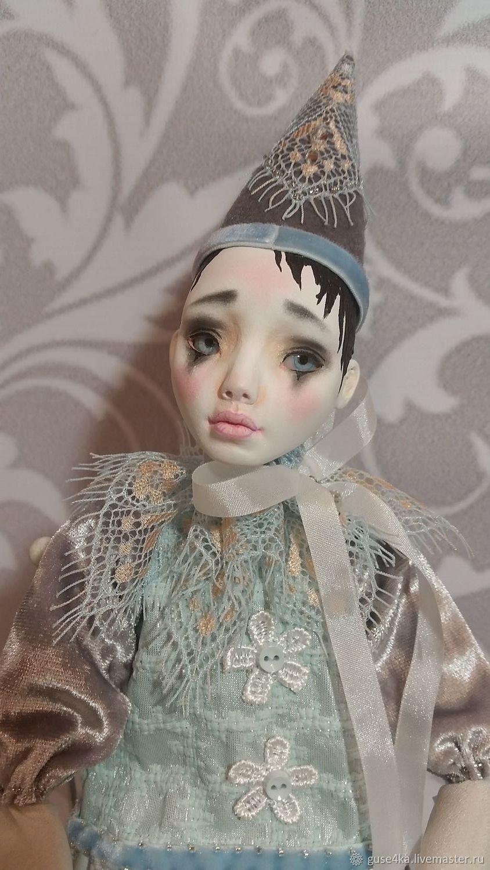 Boudoir doll Pierrot, Dolls, Moscow,  Фото №1