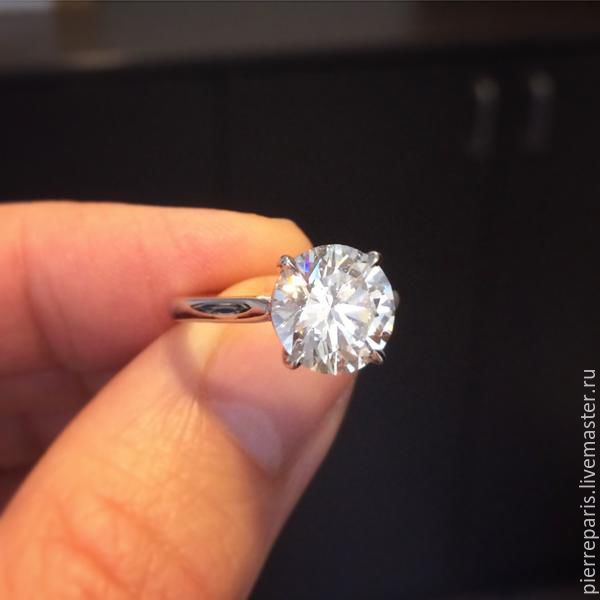 Кольцо с бриллиантом для помолвки – купить в интернет-магазине на ... 786394e6220