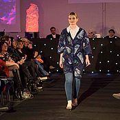 Одежда handmade. Livemaster - original item Cardigan coat made of wool Evening Tuscany. Handmade.