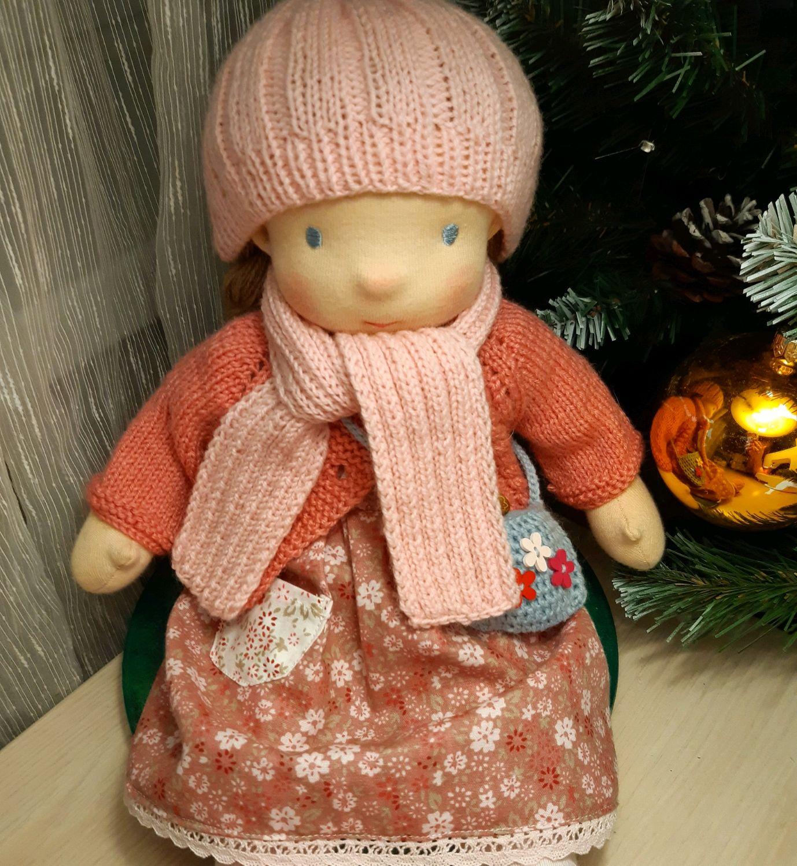 Вальдорфская кукла Ася, Вальдорфские куклы и звери, Москва,  Фото №1