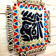 Mural on wall of Aztec gold fusing glass. Pictures. Kalashlinsky. Online shopping on My Livemaster.  Фото №2