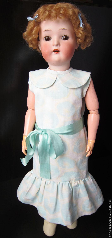 Антикварная кукла Heubach Koppelsdorf, Коллекционные куклы, Ижевск, Фото №1