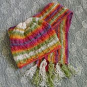 Работы для детей, handmade. Livemaster - original item Hat and scarf
