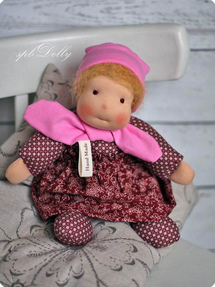 Лапушка - кукла текстильная ручной работы в вальдофском стиле, Мягкие игрушки, Санкт-Петербург,  Фото №1