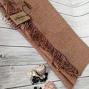Аксессуары handmade. Livemaster - original item Scarves: Handmade woven scarf made of Italian yarn linen. Handmade.