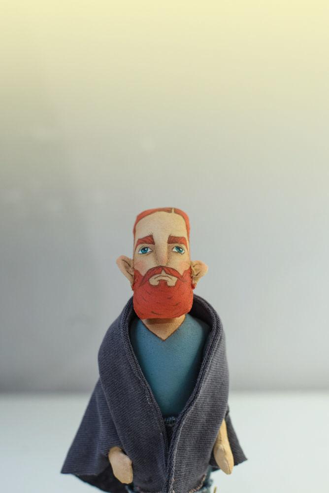Бородач 2, Портретная кукла, Москва,  Фото №1