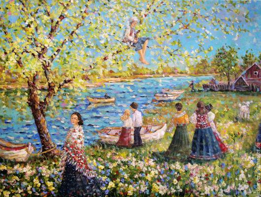 Весна в Рыбинском Заручье