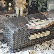 Подарки к праздникам handmade. Livemaster - original item Tea box,Tea with Victoria,. Handmade.