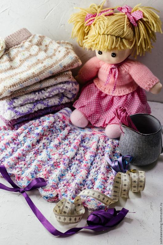 Вязание ручной работы. Ярмарка Мастеров - ручная работа. Купить Мастер-класс по вязанию юбочки «Волна» спицами. Handmade. Комбинированный