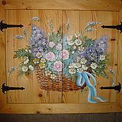 Для дома и интерьера handmade. Livemaster - original item Wall painting.. Handmade.