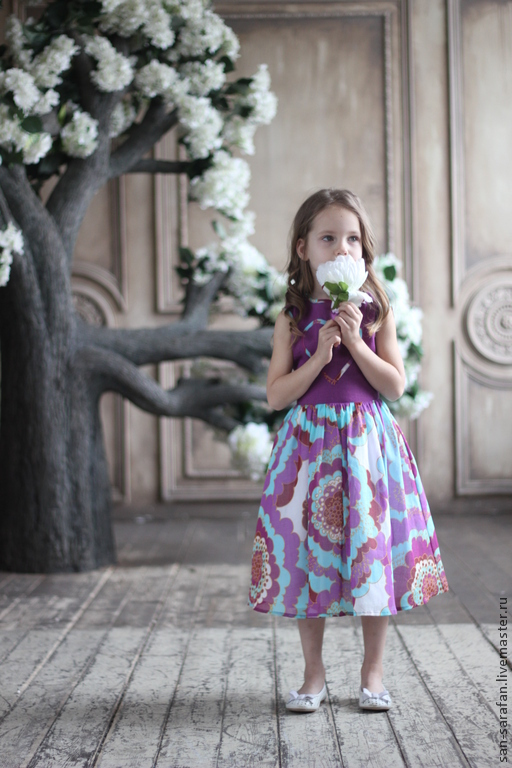 Одежда для девочек, ручной работы. Ярмарка Мастеров - ручная работа. Купить Детское пышное  нарядное платье. Handmade. Розовый, принцесса