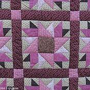 Для дома и интерьера ручной работы. Ярмарка Мастеров - ручная работа Лоскутное одеяло Сумерки. Handmade.