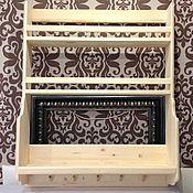 Материалы для творчества handmade. Livemaster - original item Wood shelf custom. Handmade.