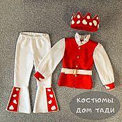 Одежда детская handmade. Livemaster - original item Costume Fly Agaric King King of the forest children`s New Year Carnival. Handmade.
