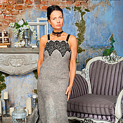 Одежда handmade. Livemaster - original item Handmade Felted dress Miss GRACE. Handmade.