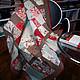 """Текстиль, ковры ручной работы. Ярмарка Мастеров - ручная работа. Купить Плед """"Зимняя сказка"""". Handmade. Лоскутное одеяло, дети"""